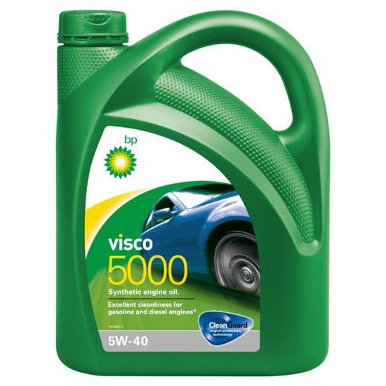 Моторное масло BP VISCO 5000 5W40 синтетическое 4Л