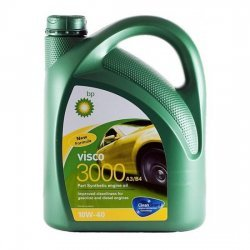Моторное масло BP VISCO 3000 10W40 SL/CF А3/В4 полусинт 4Л
