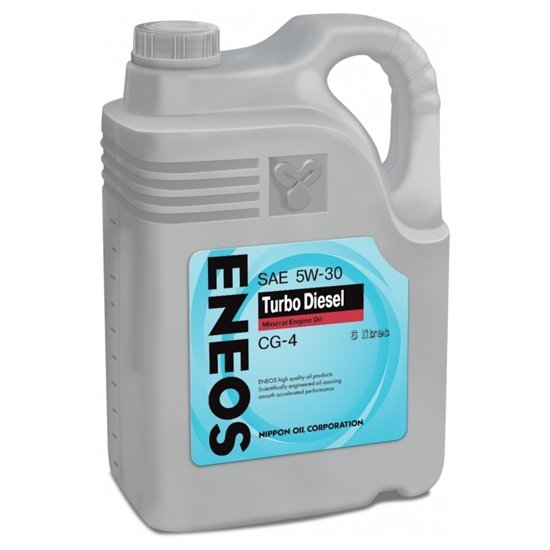 Моторное масло ENEOS CG-4 TURBO  5W30  6Л