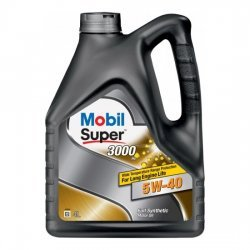 Моторное масло MOBIL СУПЕР 3000Х1 5W40 SN SM синтетическое 4Л