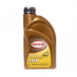 Моторное масло  SINTEC ЛЮКС 10W40 полусинтетическое 1Л
