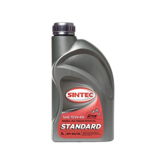 Моторное масло SINTEC СТАНДАРТ 10W40 минеральное 1 Л