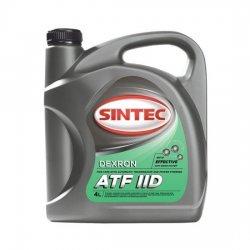Декстрон SINTEC DEXRON ATF II минеральное 4Л