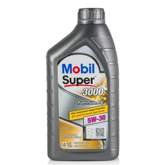 Моторное масло MOBIL СУПЕР 3000Х1F-FE 5W30 синтетическое 1Л