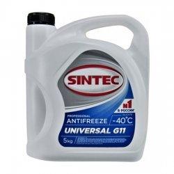 Антифриз SINTEC UNIVERSAL синий 5 кг
