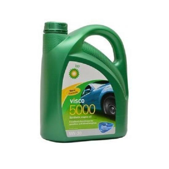 Моторное масло BP VISCO 5000 5W30 синтетическое 4Л