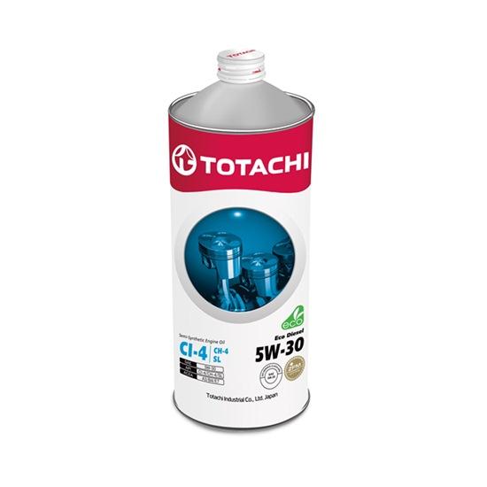 Моторное масло TOTACHI ECO DIESEL 5W30 CI-4/CH-4/SL   1л