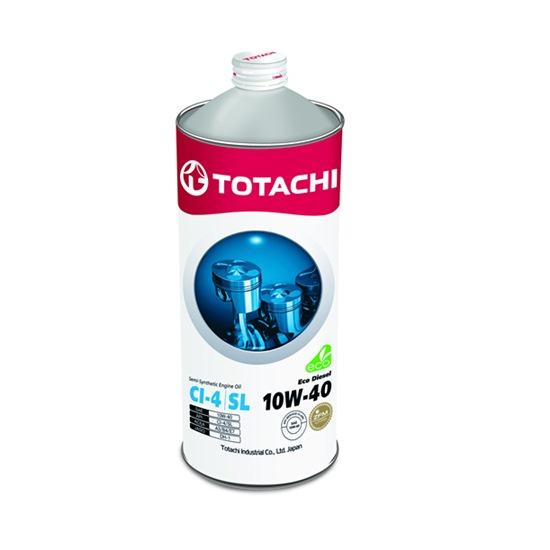 Моторное масло TOTACHI ECO DIESEL 10W40 CI-4/CH-4/SL   1л