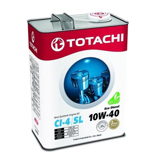 Моторное масло TOTACHI ECO DIESEL 10W40 CI-4/CH-4/SL   4л