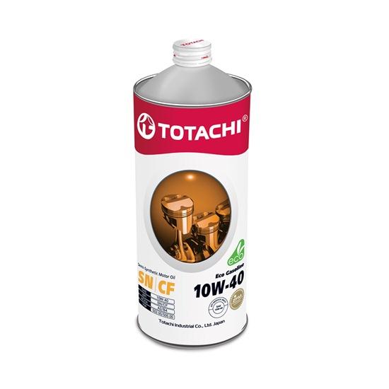Моторное масло TOTACHI ECO GASOLINE 10W40 SN/CF   1л