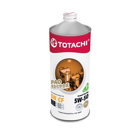 Моторное масло TOTACHI GRAND RACING FULLY SYNTHETIC  5W50 SN/CF 1л