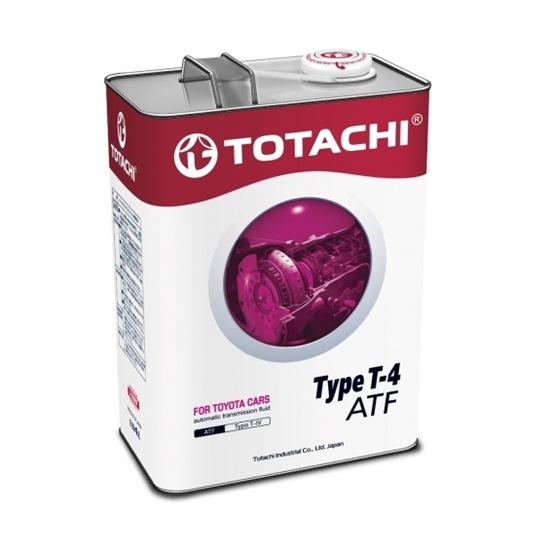 Жидкость трансмиссионная TOTACHI  ATF TYPE T-IV 4Л