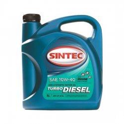 Моторное масло SINTEC TURBO DIESEL 10W40 полусинтетическое 5Л