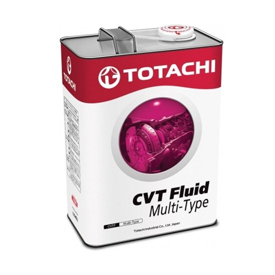 Жидкость трансмиссионная TOTACHI ATF CVT MULTI-TYPE  4Л