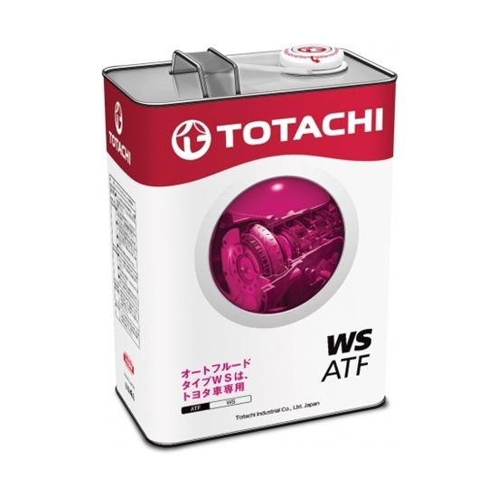 Жидкость трансмиссионная TOTACHI ATF WS 4Л