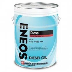 Моторное масло ENEOS CF-4 15W40 МИНЕРАЛЬНОЕ ДИЗЕЛЬ 20Л