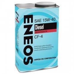 Моторное масло ENEOS CF-4 15W40 МИНЕРАЛЬНОЕ ДИЗЕЛЬ 1Л