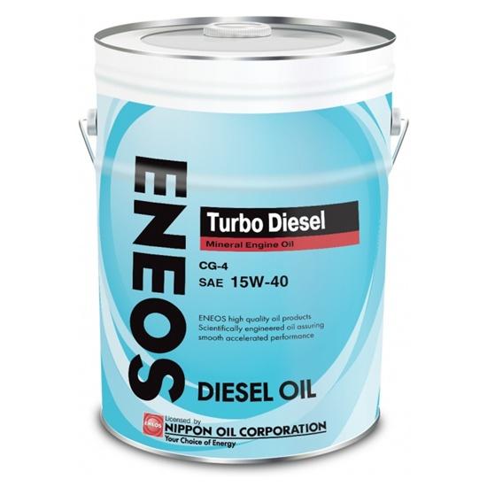 Моторное масло ENEOS CG-4 TURBO  15W40  МИНЕРАЛЬН 20Л