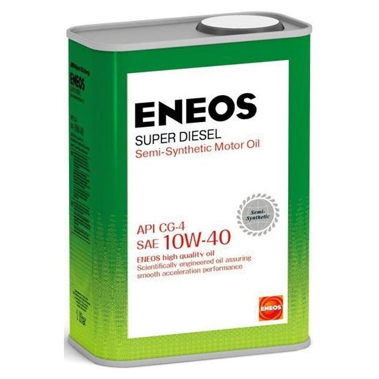Моторное масло ENEOS CG-4 10W40 Diesel Super полусинт 1Л