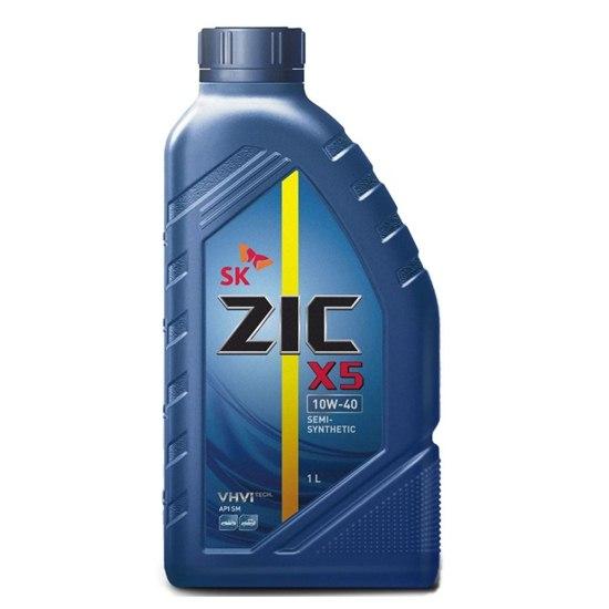 Моторное масло ZIC X5 10W40 П/С  1Л