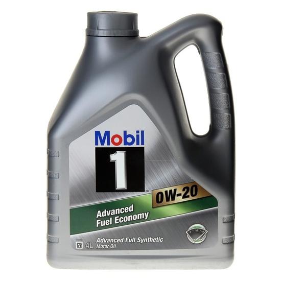 Моторное масло MOBIL 1 FUEL ECONOMY синтетическое 0W20 4л