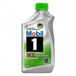 Моторное масло MOBIL 1 FUEL ECONOMY синтетическое 0W20 1л