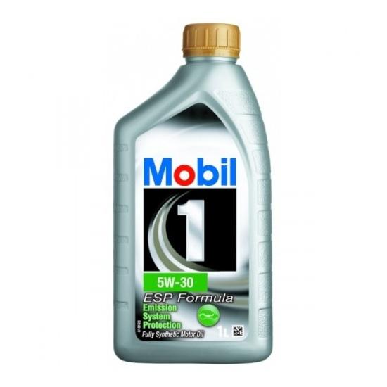 Моторное масло MOBIL 1 ESP FORMULA синтетическое 5W30 1л