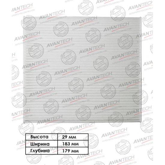 ФИЛЬТР САЛОННЫЙ AVANTECH 105534 (CF0112)