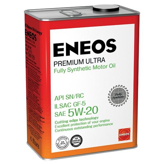 Моторное масло ENEOS SN PREMIUM ULTRA 5W20 СИНТЕТИКА 4Л