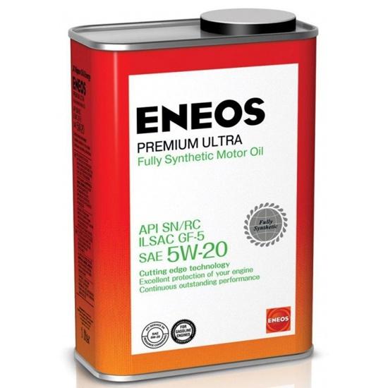 Моторное масло ENEOS SN PREMIUM ULTRA 5W20 СИНТЕТИКА 1Л