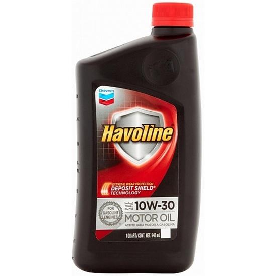 Моторное масло CHEVRON HAVOLINE SAE 10W30 0,946л