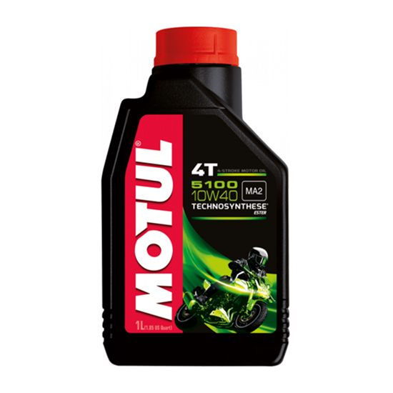 Моторное масло MOTUL МОТО 5100 4T 10W40 1л