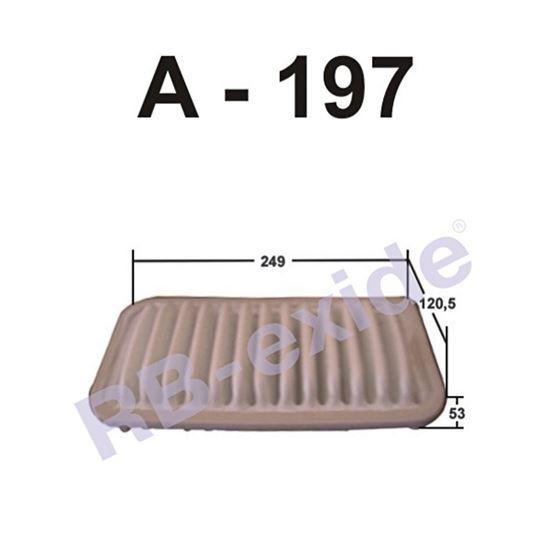 ФИЛЬТР ВОЗДУШНЫЙ А-197 RB-EXIDE