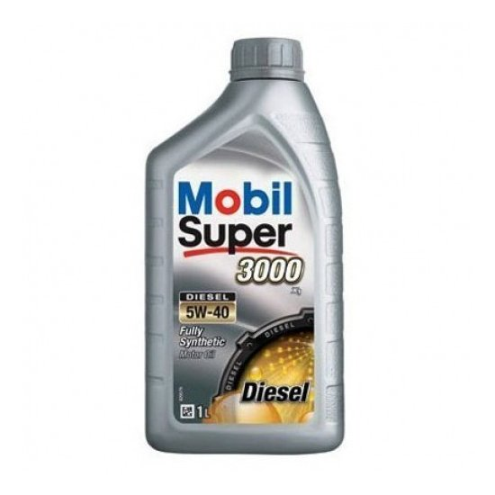 Моторное масло MOBIL СУПЕР 3000Х1 DIESEL 5W40 1л синтетическое