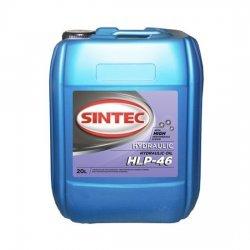 Гидравлическое масло SINTEC HYDRAULIC HLP 46 20Л