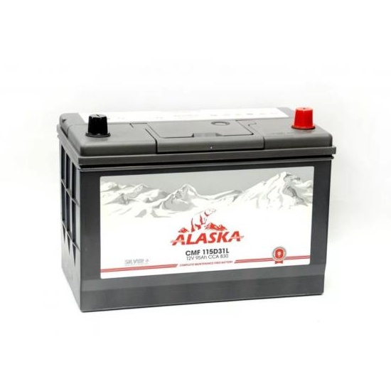 АКБ ALASKA CMF 115D31L 95 АЧ ОБРАТНЫЙ