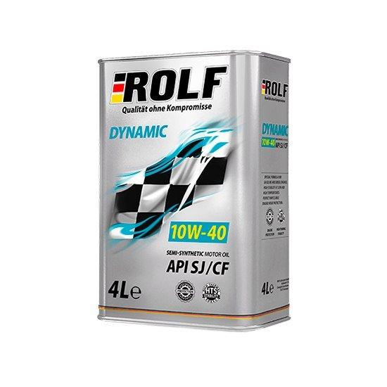 Моторное масло ROLF DINAMIC 10W40 П/С 4Л