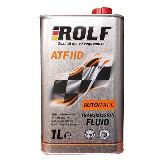 Жидкость для АКПП и ГУР ROLF ATF-IID 1Л