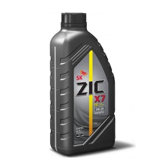 Моторное масло ZIC X7 FE 0W20  1Л