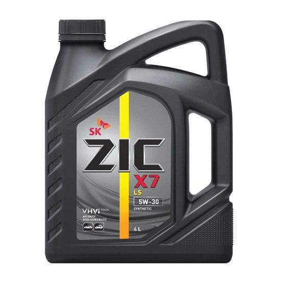 Моторное масло ZIC X7 LS 5W30 SN  4Л