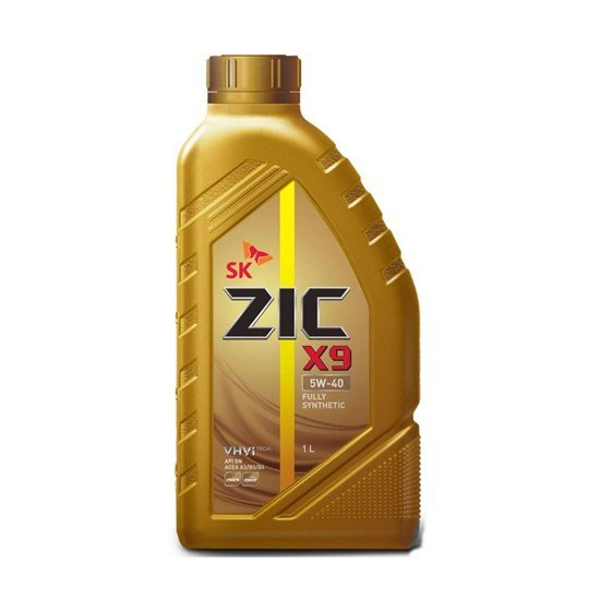 Моторное масло ZIC X9 5W40  синтетическое 1л