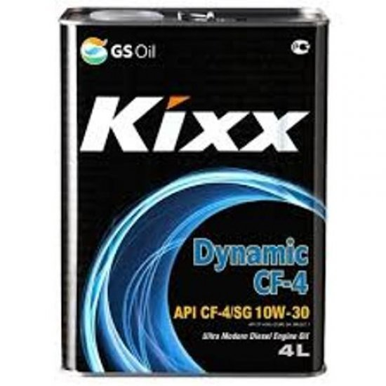 Моторное масло KIXX DYNAMIC 10W30 HD CF-4/SG П/С 4Л