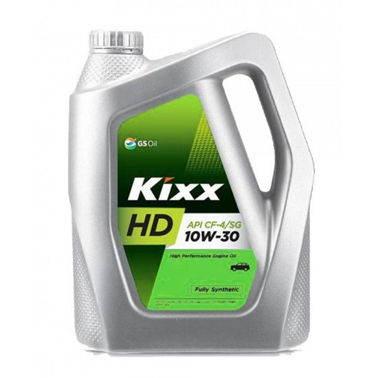 Моторное масло KIXX DYNAMIC 10W30 HD CF-4/SG П/С 6Л