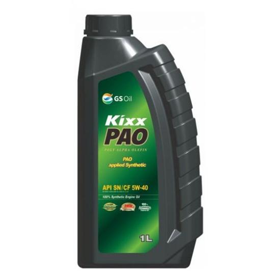 Моторное масло KIXX PAO 5W40 SN/CF/C3 1Л