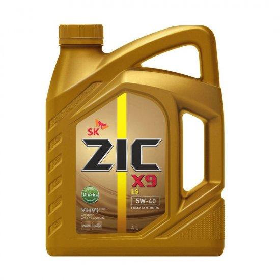 Моторное масло ZIC X9 LS 5W40 DIESEL 4Л