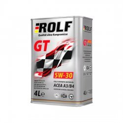 Моторное масло ROLF GT 5W30 SN/CF  1Л