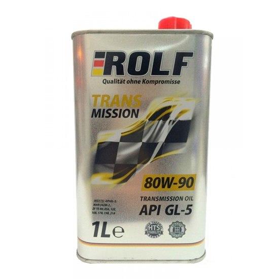 Трансмиссионное масло ROLF SAE 80W90 API GL-5 1Л