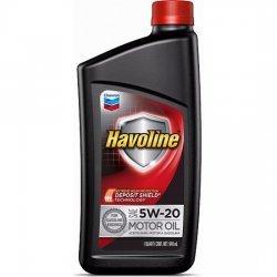 Моторное масло CHEVRON HAVOLINE SAE 5W20 0,946л