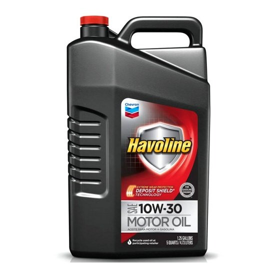 Моторное масло CHEVRON HAVOLINE SAE 10W30 4,732л