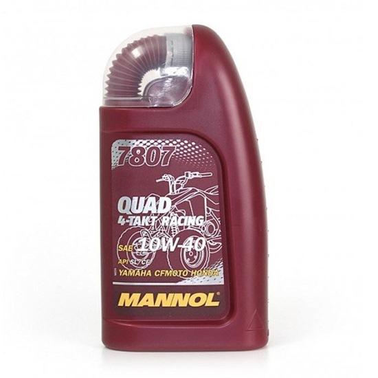 Моторное масло MANNOL 4-ТАКТ RACING QUAD 10W40 1Л
